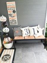 Unique Halloween Porch Ideas On A Budget14