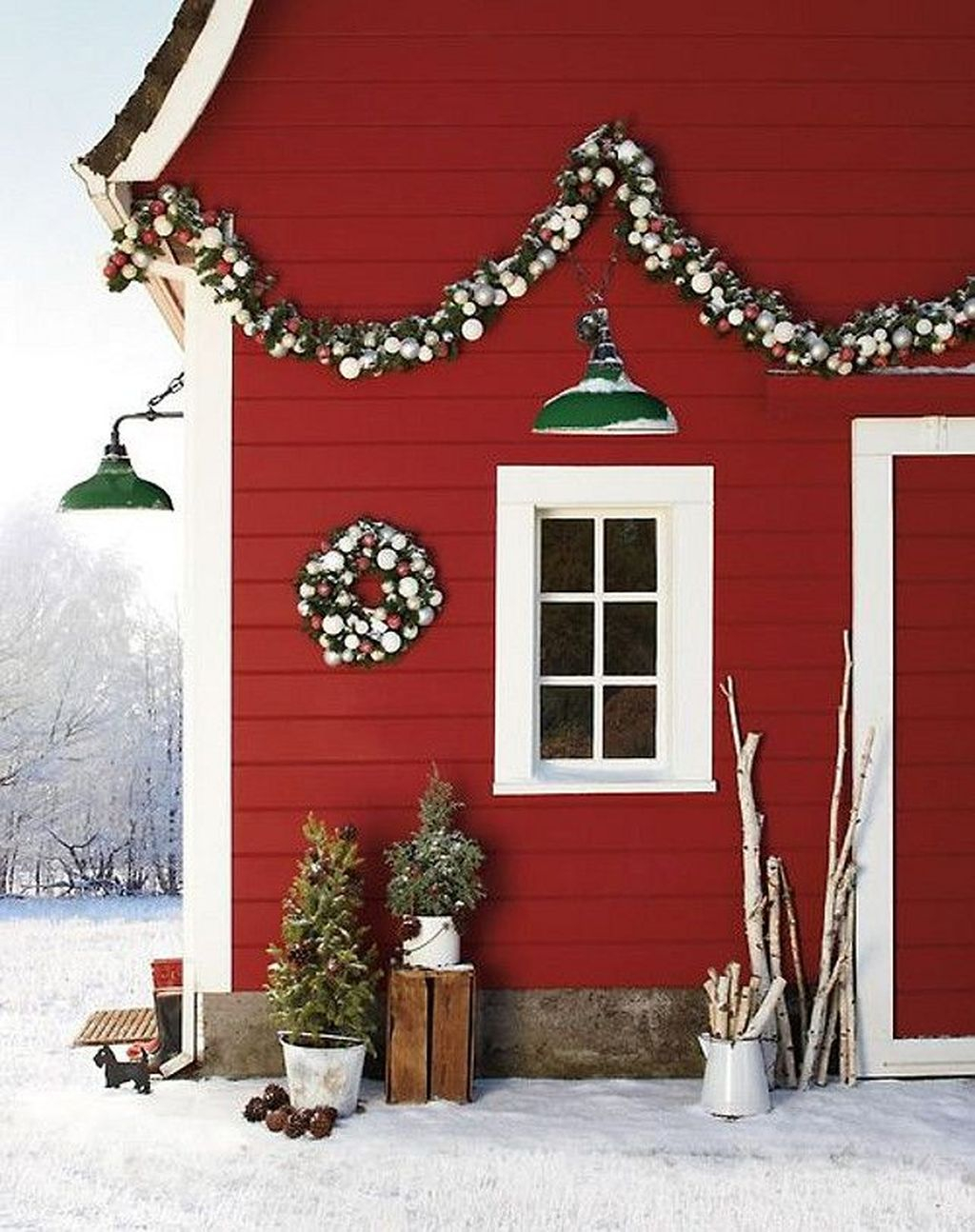 Wonderful Interior And Exterior Atmosphere Ideas For Christmas Décor To Copy07