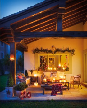 Wonderful Interior And Exterior Atmosphere Ideas For Christmas Décor To Copy16