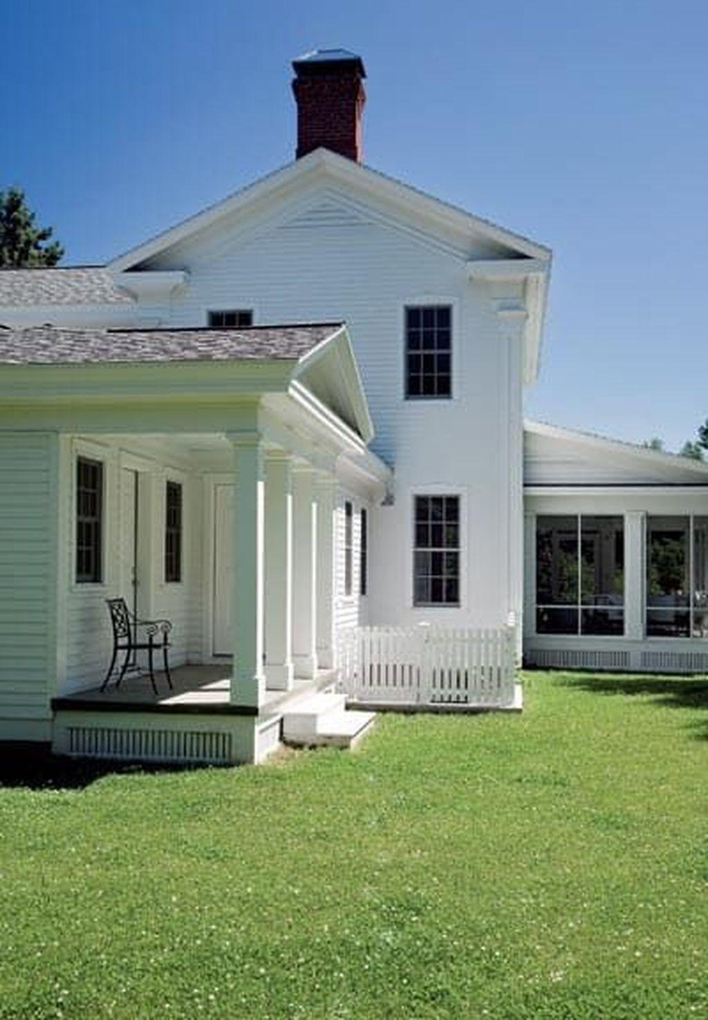 Captivating Farmhouse Exterior House Design Ideas To Copy Right Now 02