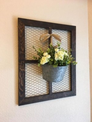 Casual Diy Farmhouse Wall Decorations Ideas On A Budget 06