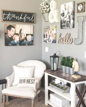 Casual Diy Farmhouse Wall Decorations Ideas On A Budget 21