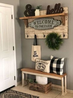 Casual Diy Farmhouse Wall Decorations Ideas On A Budget 28