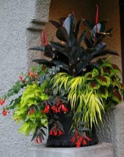 Chic Summer Planter Design Ideas For Summer Outdoor Pool 30