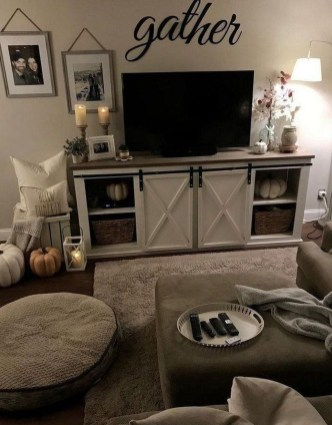 Comfy Farmhouse Living Room Decor Ideas That Make You Feel In Village 12