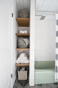 Impressive Bathroom Organization Ideas For Your First Apartment In College 19
