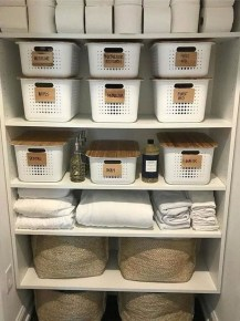 Impressive Bathroom Organization Ideas For Your First Apartment In College 20