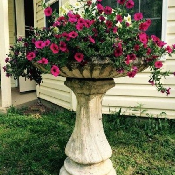 Impressive Summer Planter Design Ideas For Front Yard Decoration 25