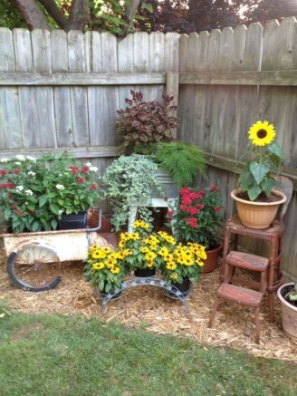 Inexpensive Diy Garden Landscaping Ideas On A Budget To Try 09