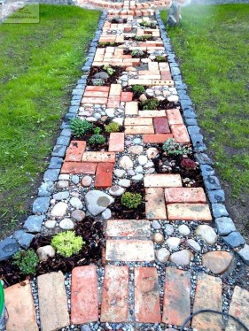 Inexpensive Diy Garden Landscaping Ideas On A Budget To Try 27