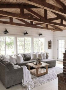 Popular Farmhouse Living Room Makeover Decor Ideas To Have Now 02