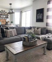 Popular Farmhouse Living Room Makeover Decor Ideas To Have Now 04