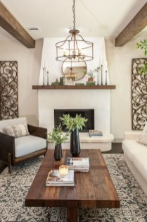 Popular Farmhouse Living Room Makeover Decor Ideas To Have Now 19