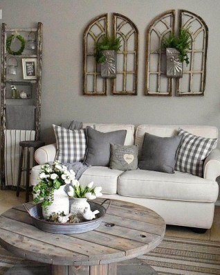Popular Farmhouse Living Room Makeover Decor Ideas To Have Now 36