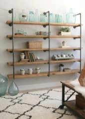 Rustic Diy Industrial Pipe Shelves Design Ideas For You 15