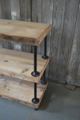 Rustic Diy Industrial Pipe Shelves Design Ideas For You 16