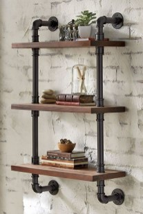 Rustic Diy Industrial Pipe Shelves Design Ideas For You 32