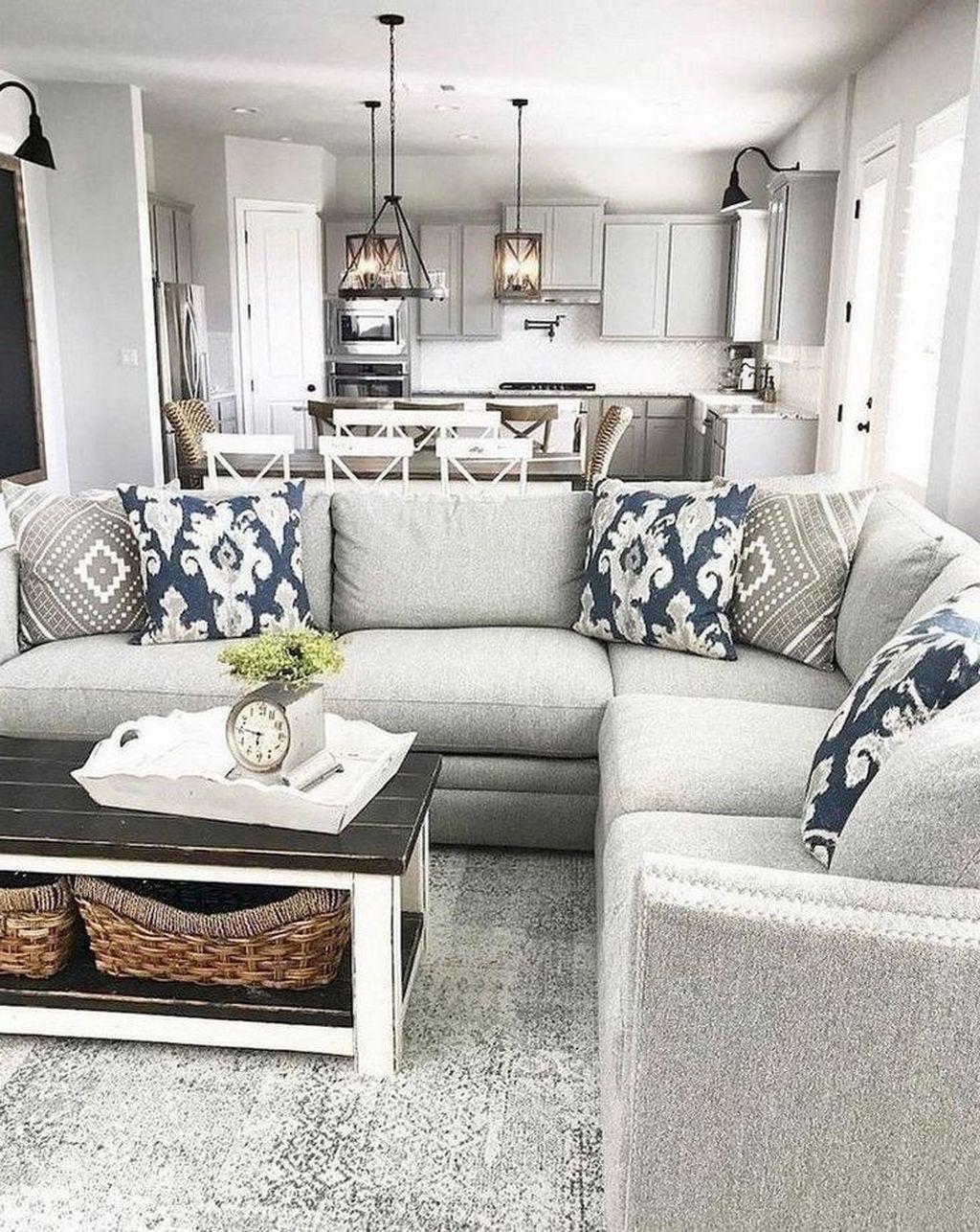 Rustic Farmhouse Furniture Design Ideas For Living Room 08