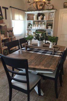 Splendid Dining Room Design Ideas With Farmhouse Table To Have 04