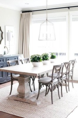 Splendid Dining Room Design Ideas With Farmhouse Table To Have 18