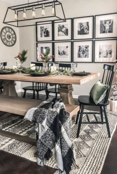 Splendid Dining Room Design Ideas With Farmhouse Table To Have 20