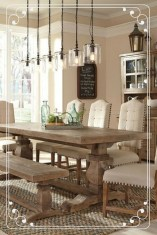 Splendid Dining Room Design Ideas With Farmhouse Table To Have 22