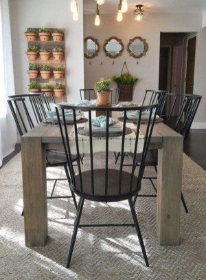 Splendid Dining Room Design Ideas With Farmhouse Table To Have 25