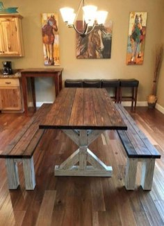 Splendid Dining Room Design Ideas With Farmhouse Table To Have 28