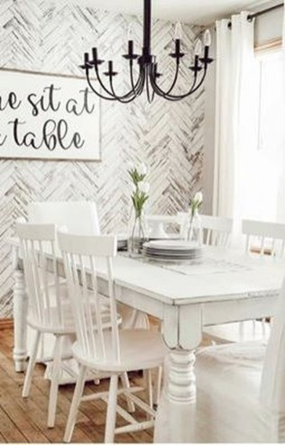 Splendid Dining Room Design Ideas With Farmhouse Table To Have 35