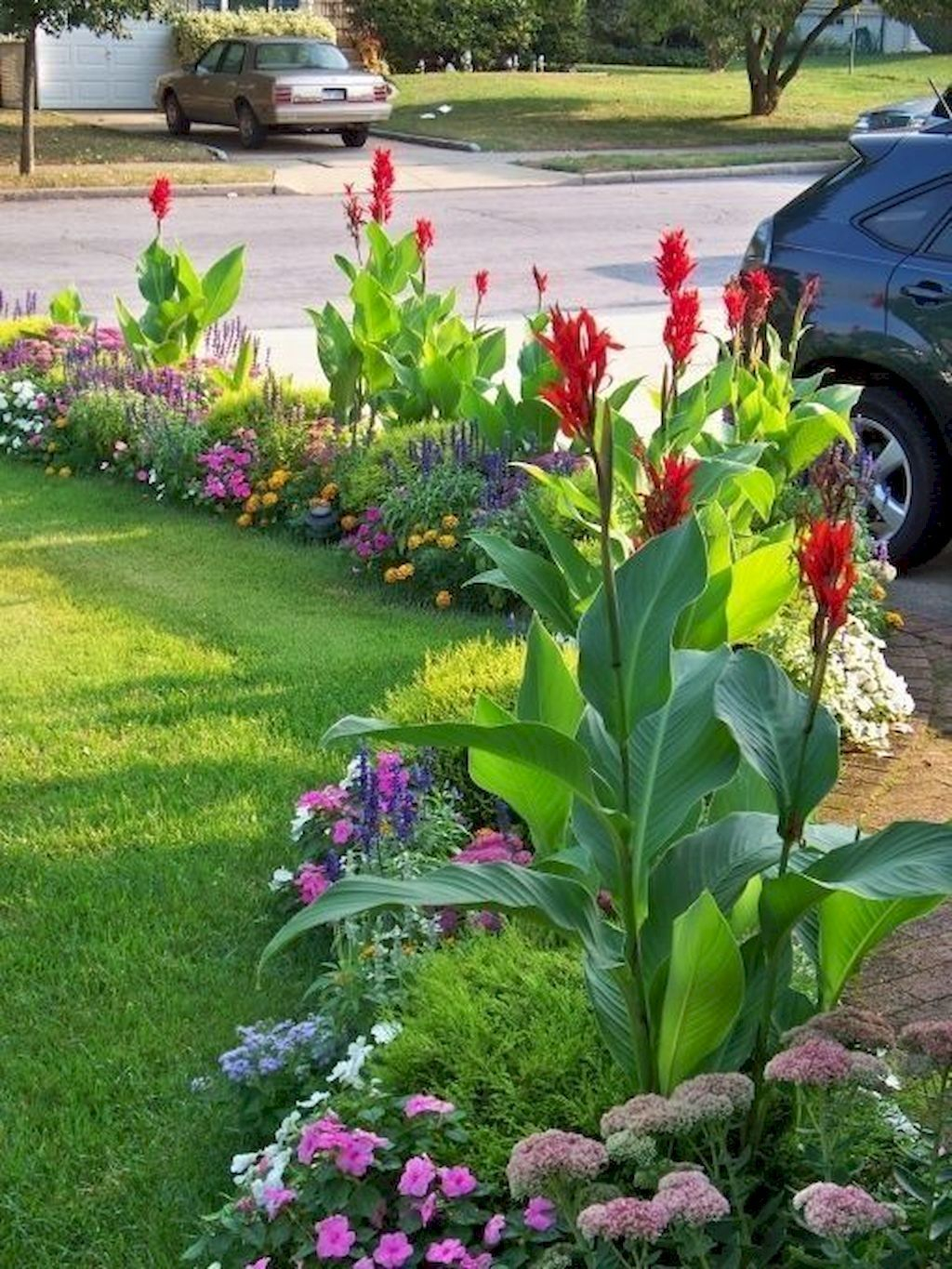 Unique Diy Flower Bed Ideas For Front Yard To Try 06