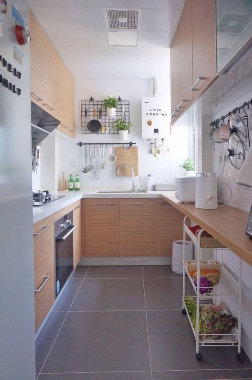 Brilliant Small Kitchen Remodel Design Ideas On A Budget 07