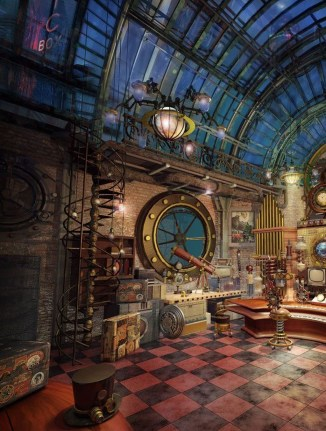 Creative Steampunk Room Design Ideas To Try Asap 13