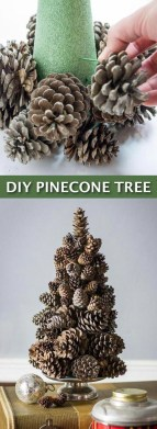 Dreamy Diy Christmas Cone Trees Design Ideas To Try Today 11