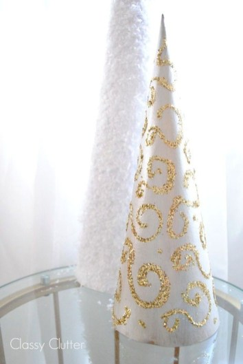 Dreamy Diy Christmas Cone Trees Design Ideas To Try Today 12