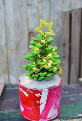 Dreamy Diy Christmas Cone Trees Design Ideas To Try Today 15