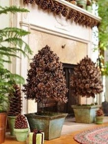Dreamy Diy Christmas Cone Trees Design Ideas To Try Today 19