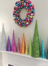 Dreamy Diy Christmas Cone Trees Design Ideas To Try Today 22