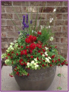 Dreamy Front Door Flower Pots Design Ideas To Increase Your Home Beauty 12