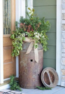 Dreamy Front Door Flower Pots Design Ideas To Increase Your Home Beauty 13