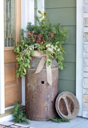 Dreamy Front Door Flower Pots Design Ideas To Increase Your Home Beauty 13