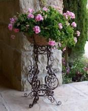 Dreamy Front Door Flower Pots Design Ideas To Increase Your Home Beauty 22