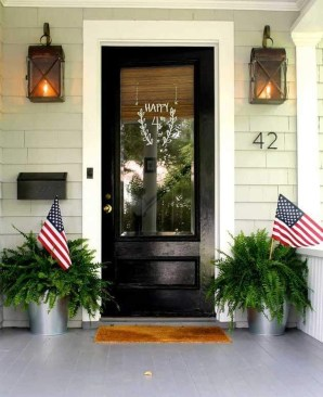 Dreamy Front Door Flower Pots Design Ideas To Increase Your Home Beauty 30