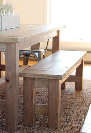 Enchanting Home Furniture Design Ideas With Diy Bench To Try 34