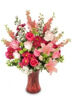 Excellent Valentine Floral Arrangements Ideas For Your Beloved People 24