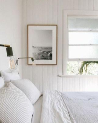 Gorgeous Beachy Farmhouse Bedroom Design Ideas For Cozy Sleep 25