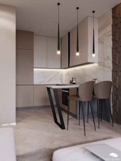 Incredible Small Kitchens Design Ideas That Space Saving 21