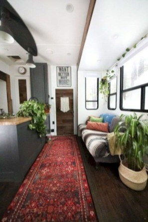 Lovely Caravans Design Ideas For Cozy Camping To Try 25
