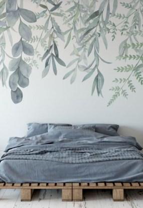 Relaxing Bedroom Wallpaper Decoration Ideas For Comfortable Bedroom 06