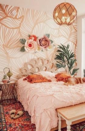Relaxing Bedroom Wallpaper Decoration Ideas For Comfortable Bedroom 24