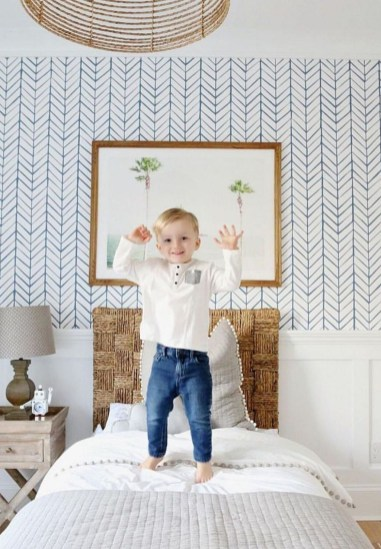 Relaxing Bedroom Wallpaper Decoration Ideas For Comfortable Bedroom 29